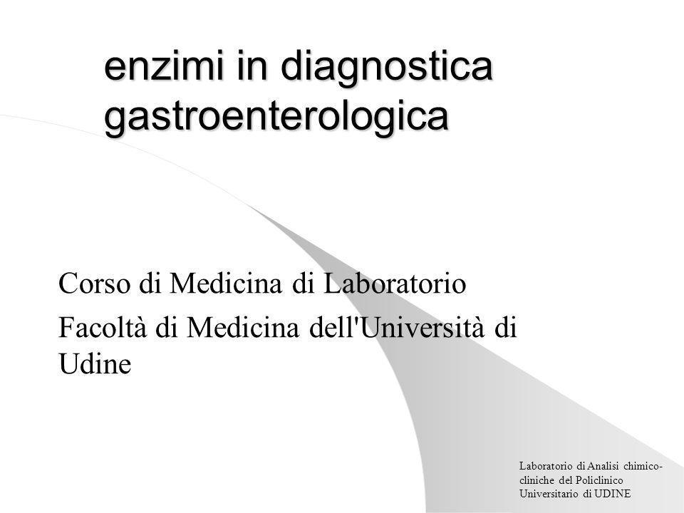 enzimi in diagnostica gastroenterologica