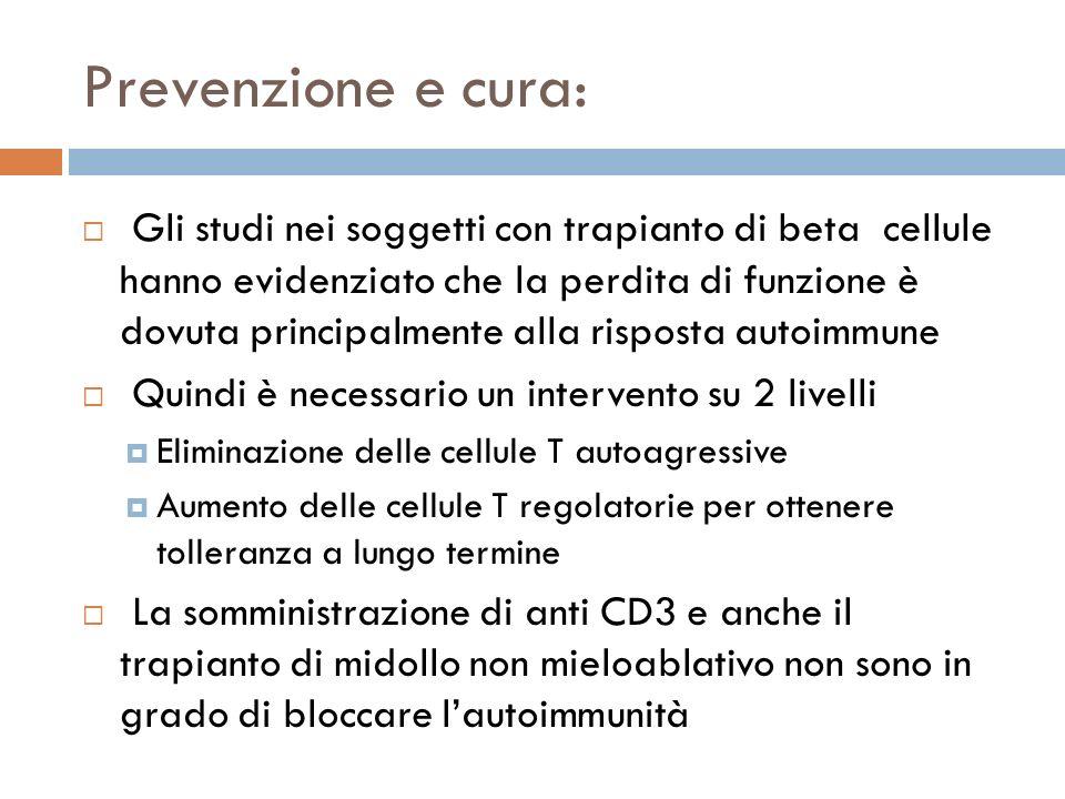 Prevenzione e cura: