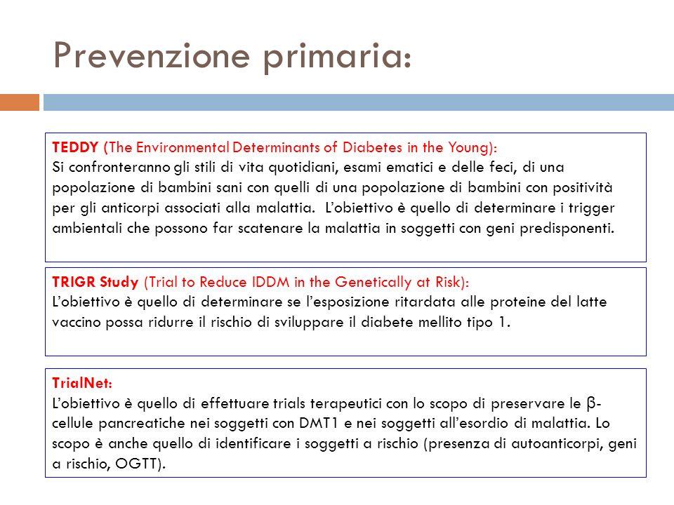 Prevenzione primaria: