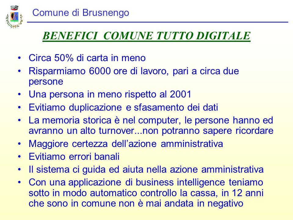 BENEFICI COMUNE TUTTO DIGITALE