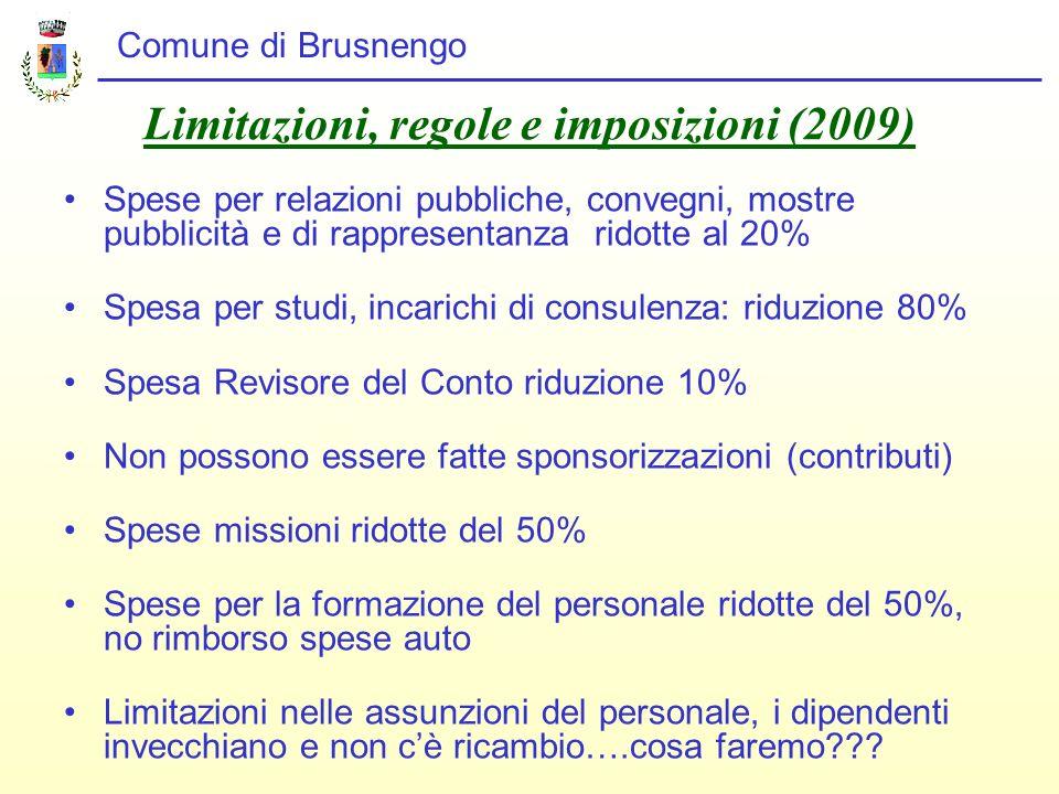 Limitazioni, regole e imposizioni (2009)