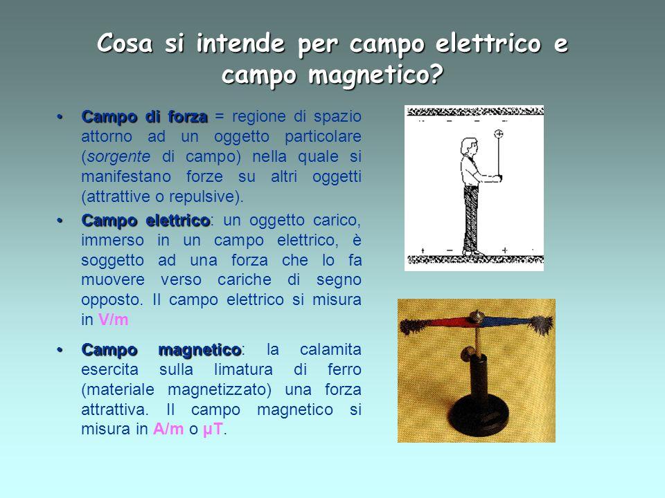 Cosa si intende per campo elettrico e campo magnetico