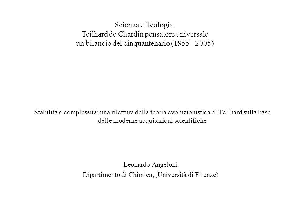 Leonardo Angeloni Dipartimento di Chimica, (Università di Firenze)