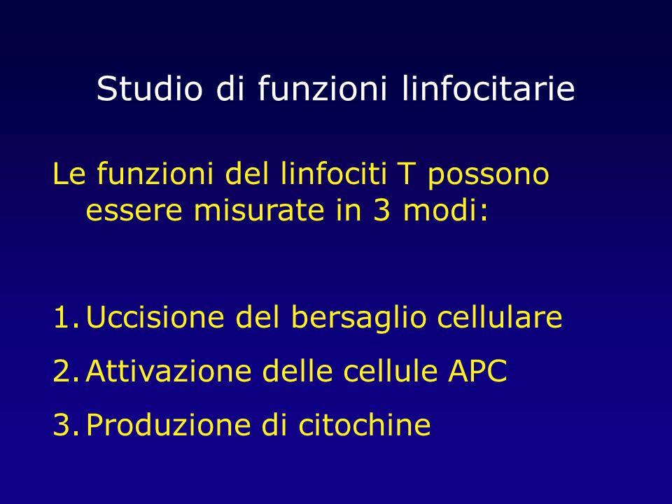 Studio di funzioni linfocitarie