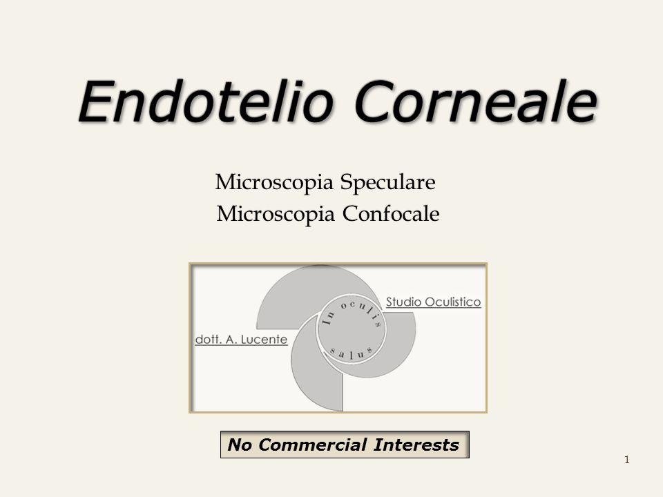 Microscopia Speculare Microscopia Confocale