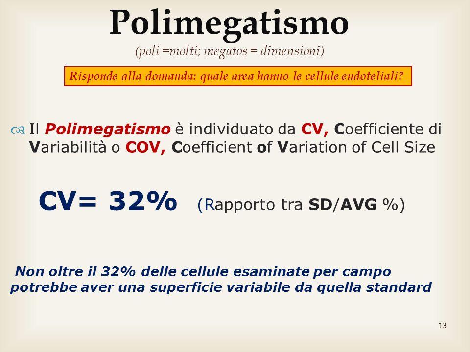 Polimegatismo (poli =molti; megatos = dimensioni)