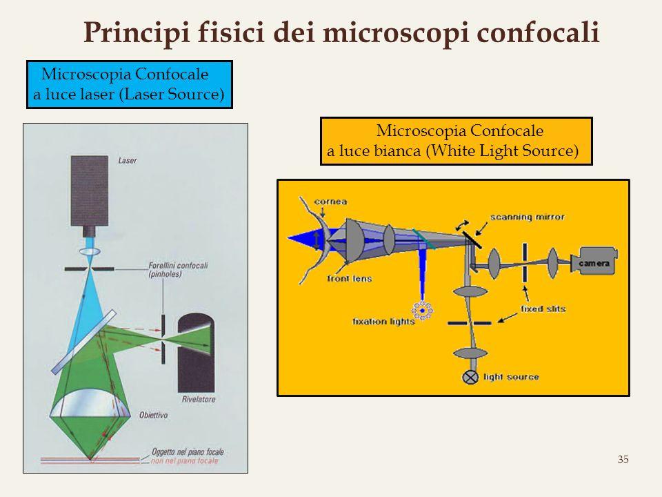 Principi fisici dei microscopi confocali