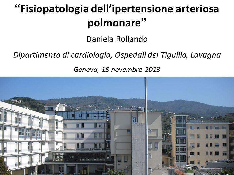 Fisiopatologia dell'ipertensione arteriosa polmonare