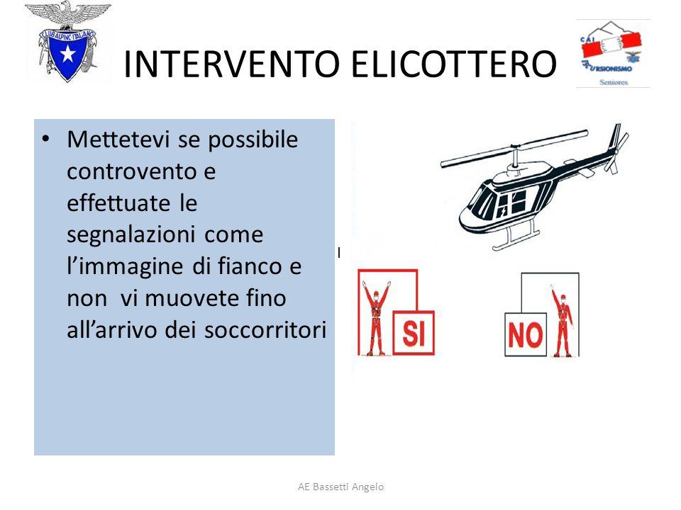INTERVENTO ELICOTTERO
