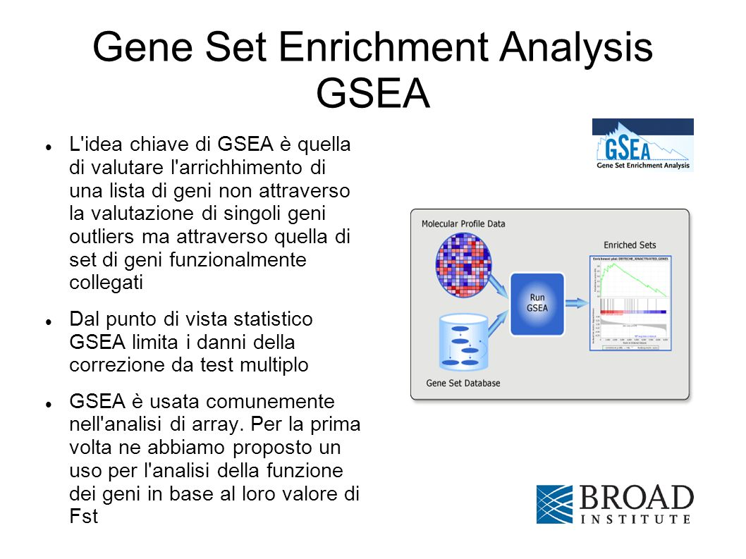 Gene Set Enrichment Analysis GSEA