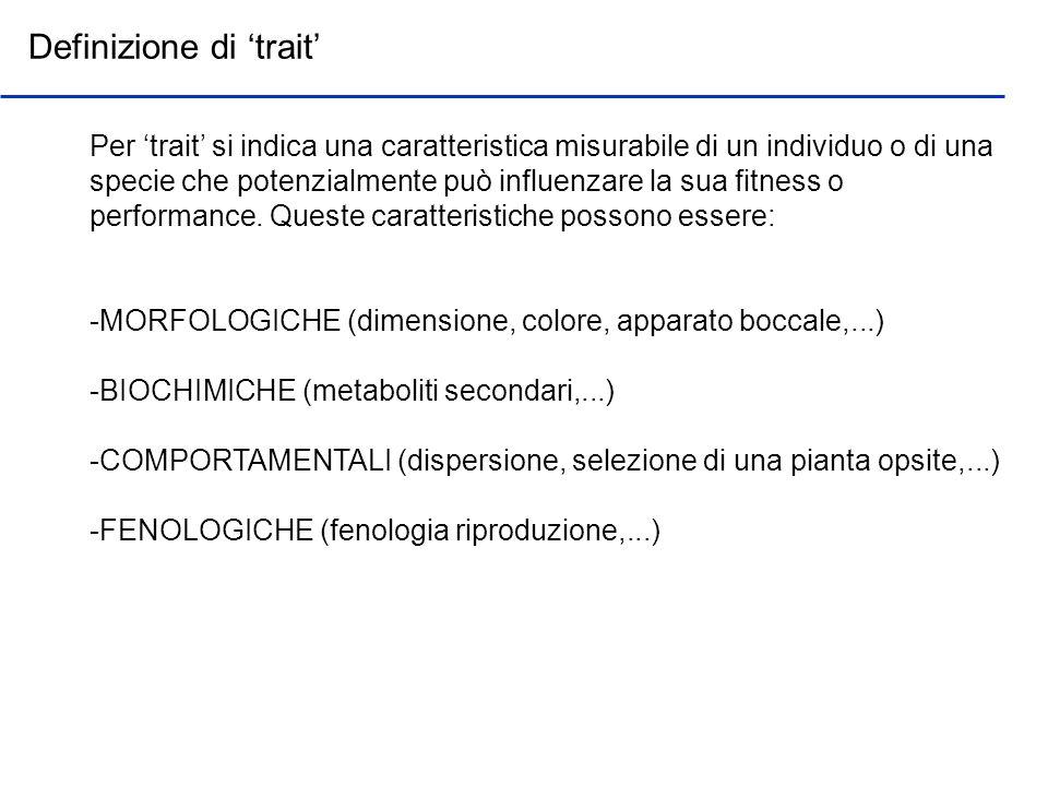 Definizione di 'trait'