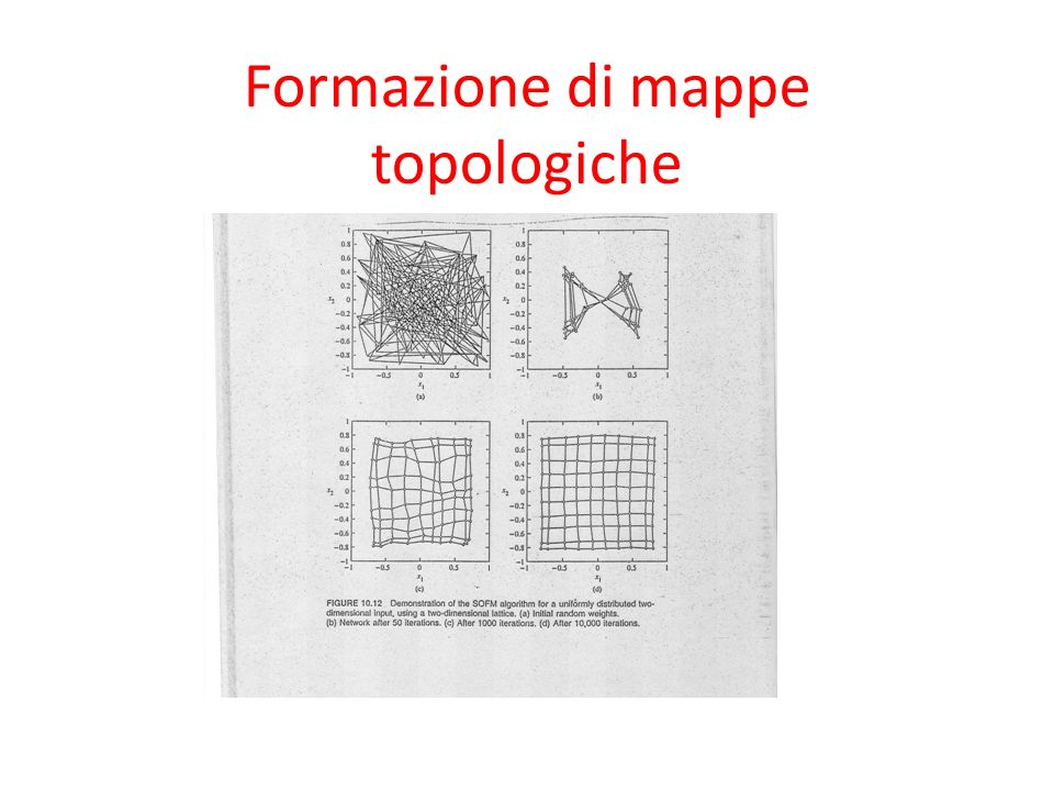 Formazione di mappe topologiche