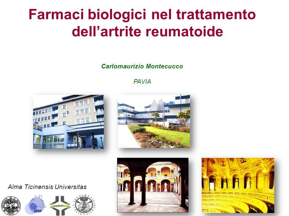 Farmaci biologici nel trattamento dell'artrite reumatoide