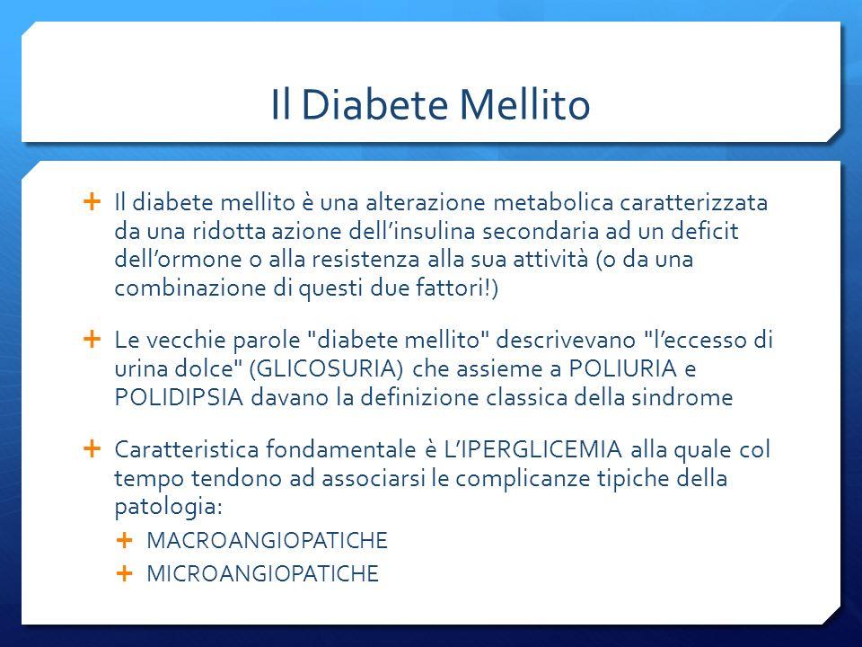 Il Diabete Mellito