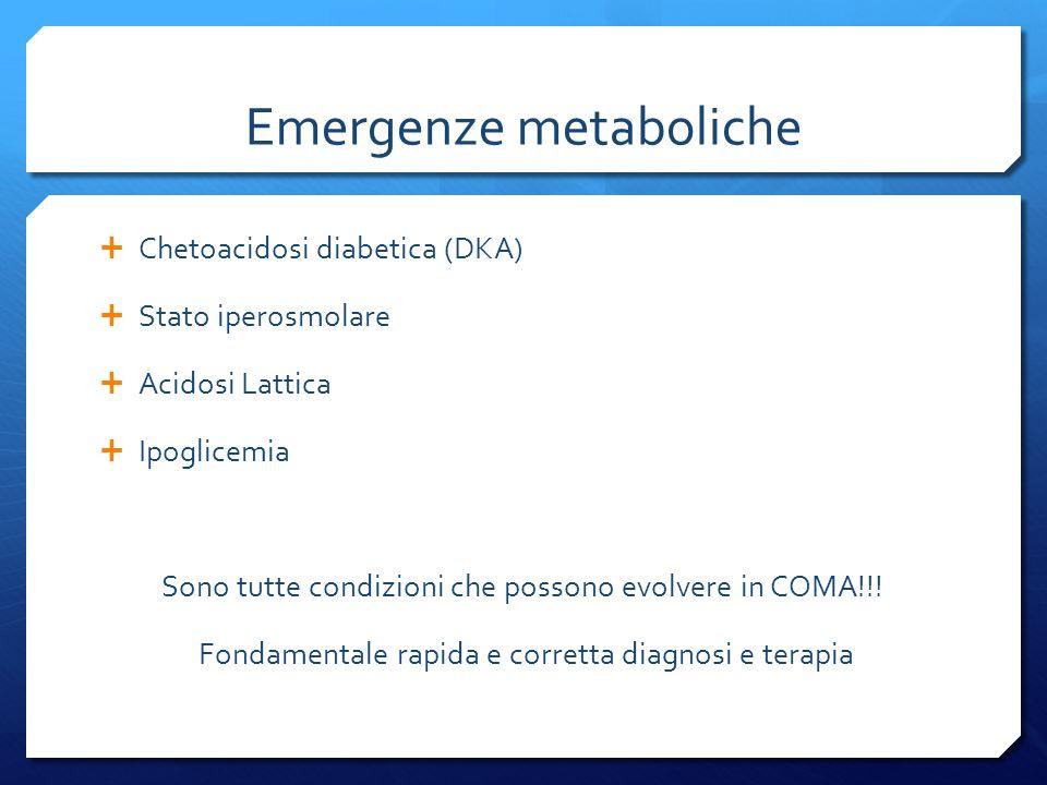 Emergenze metaboliche