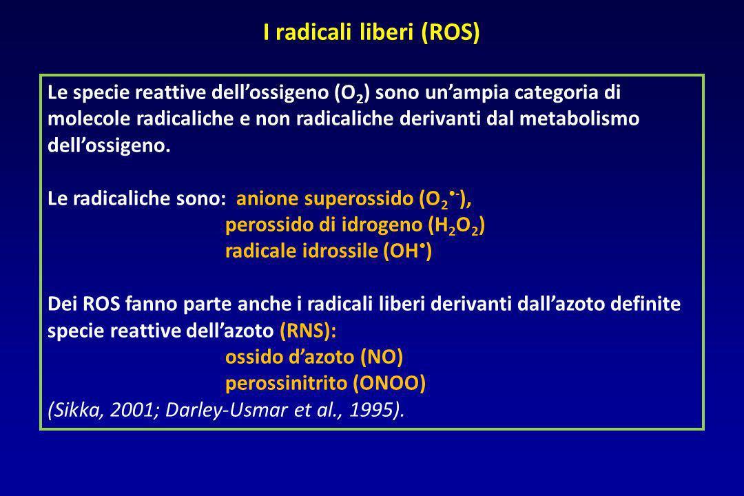 I radicali liberi (ROS)