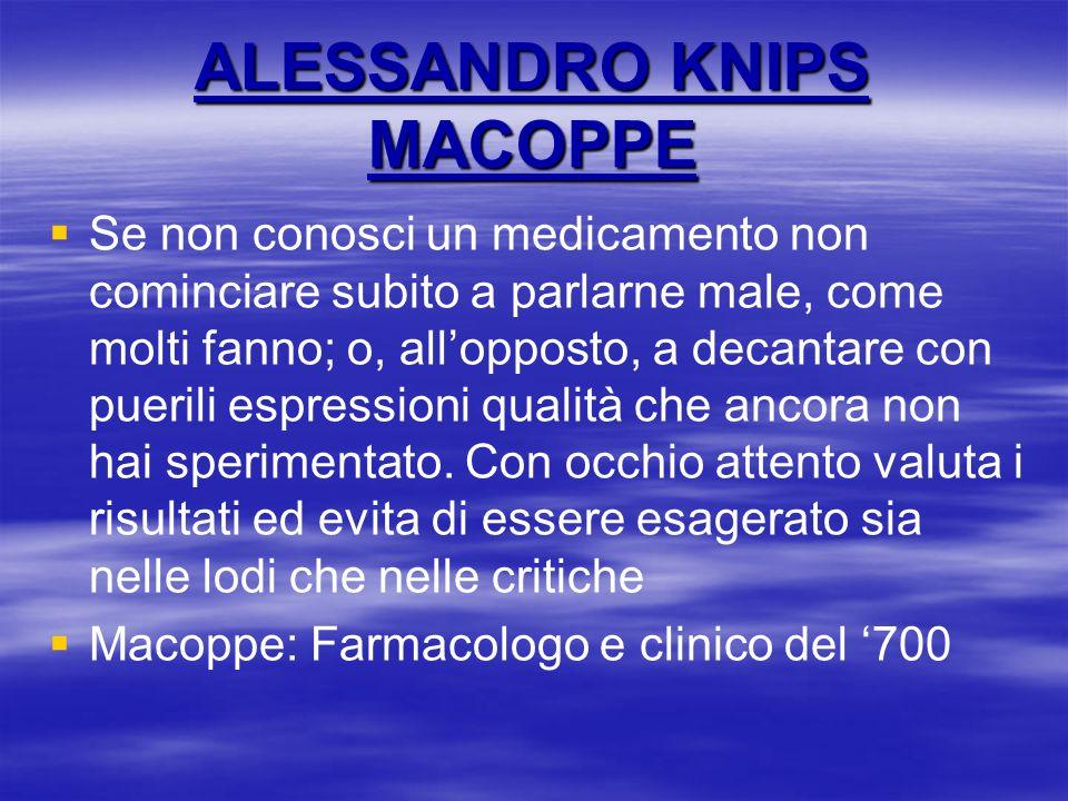 ALESSANDRO KNIPS MACOPPE
