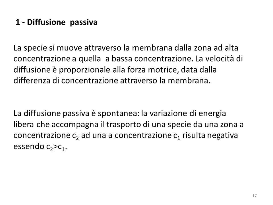 1 - Diffusione passiva