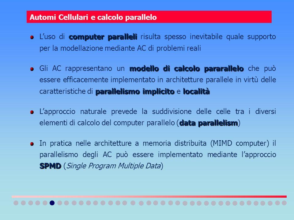 Automi Cellulari e calcolo parallelo