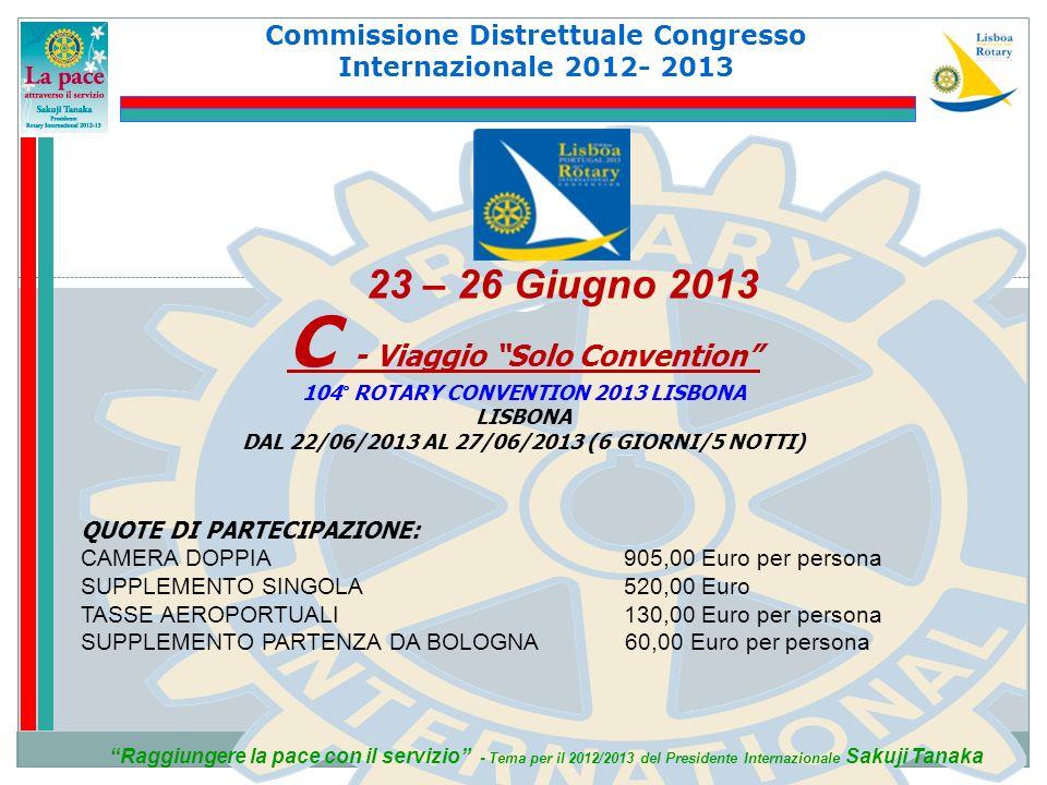 C - Viaggio Solo Convention