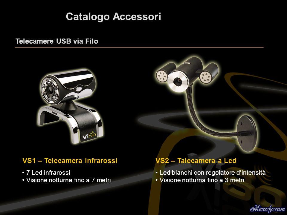 Catalogo Accessori Telecamere USB via Filo VS1 – Telecamera Infrarossi