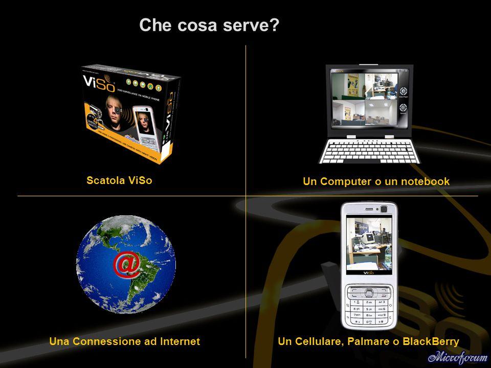 @ Che cosa serve Scatola ViSo Un Computer o un notebook