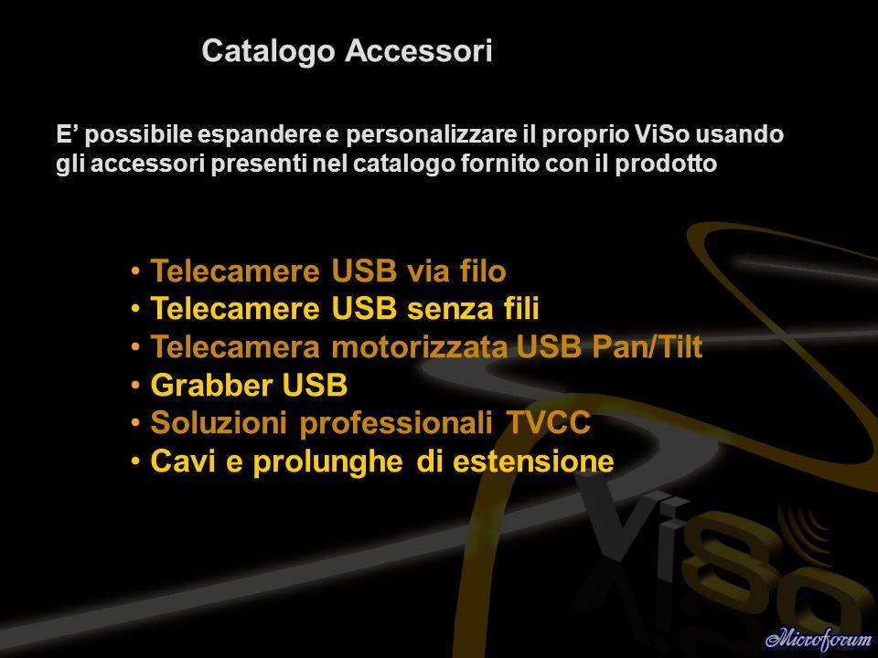 Telecamere USB via filo Telecamere USB senza fili