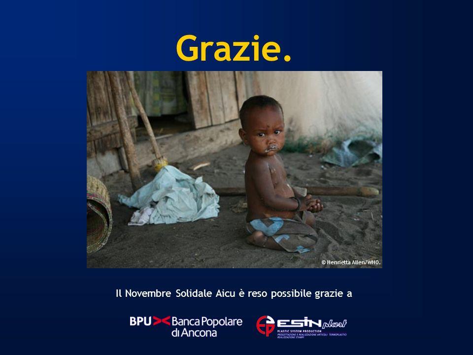 Il Novembre Solidale Aicu è reso possibile grazie a