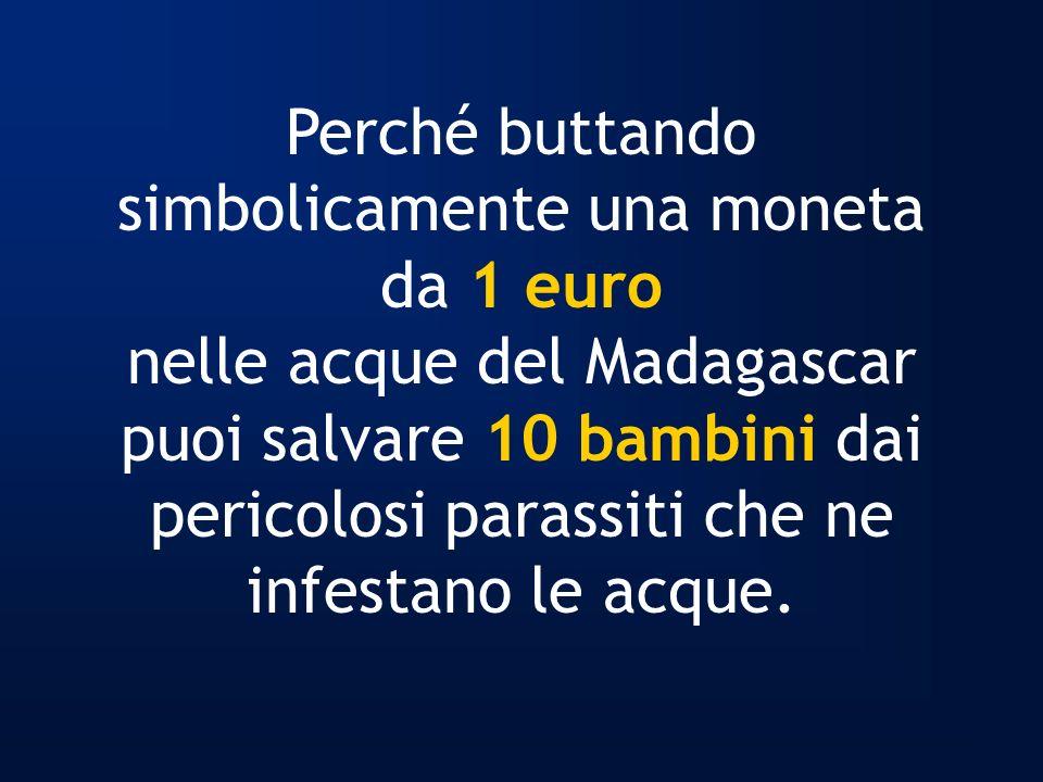 Perché buttando simbolicamente una moneta da 1 euro
