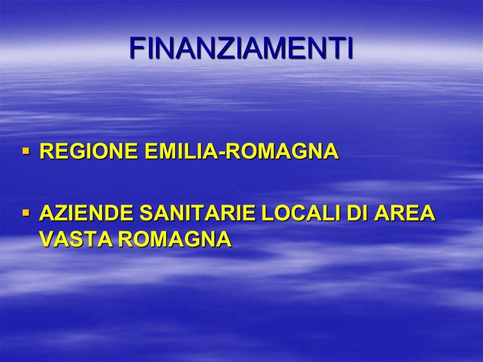 FINANZIAMENTI REGIONE EMILIA-ROMAGNA