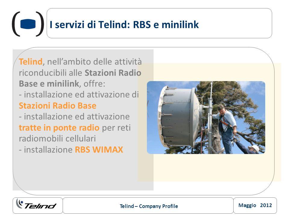 I servizi di Telind: RBS e minilink