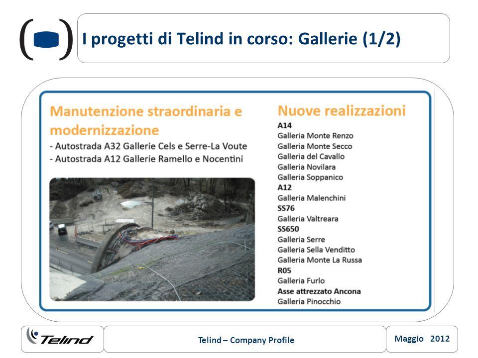 I progetti di Telind in corso: Gallerie (1/2)