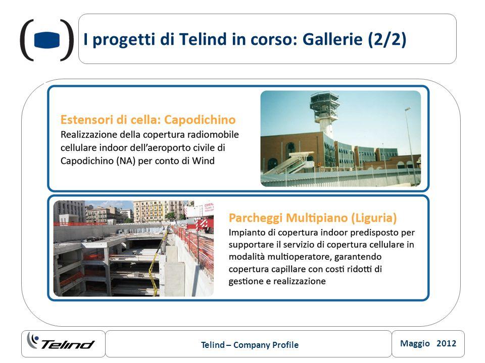 I progetti di Telind in corso: Gallerie (2/2)