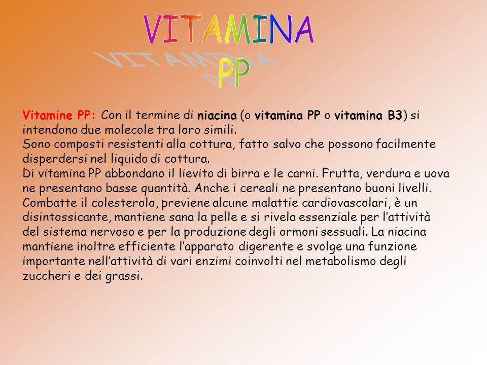 VITAMINA PP.