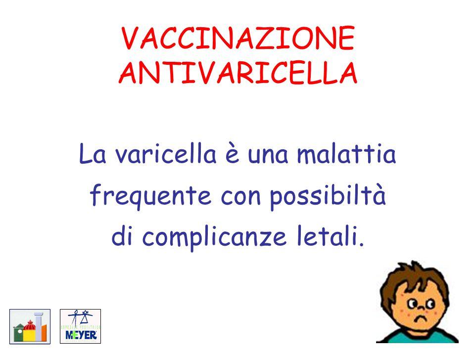 VACCINAZIONE ANTIVARICELLA