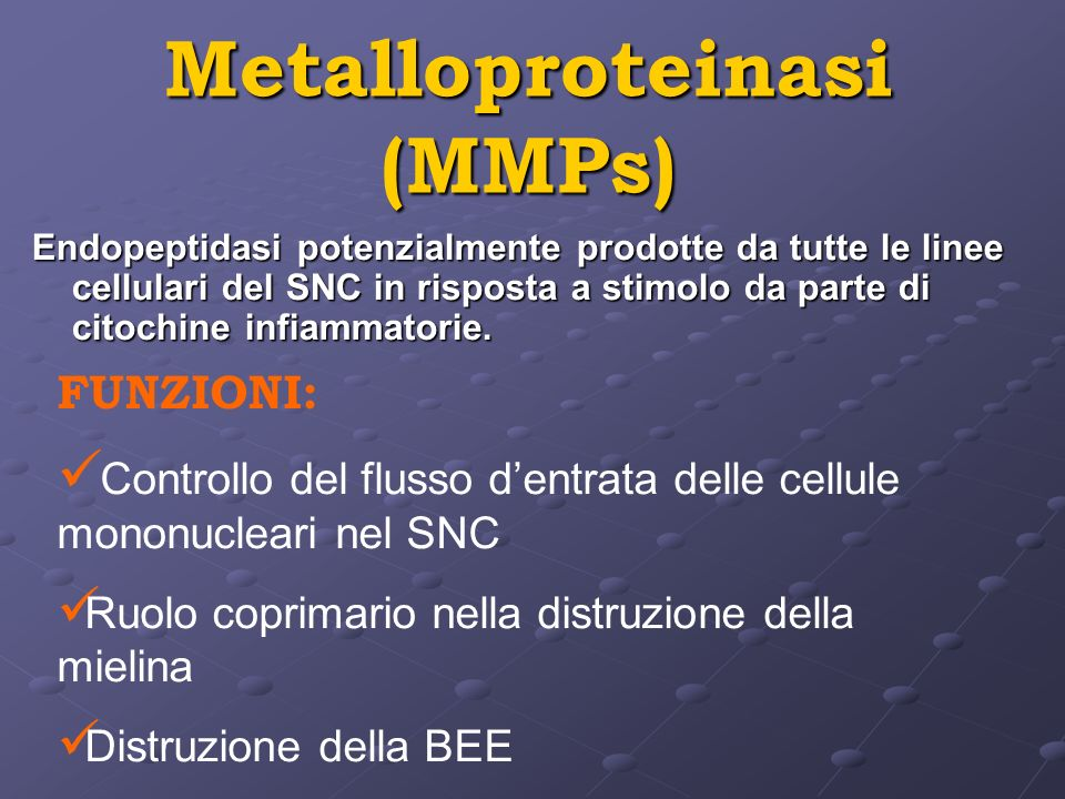 Metalloproteinasi (MMPs)