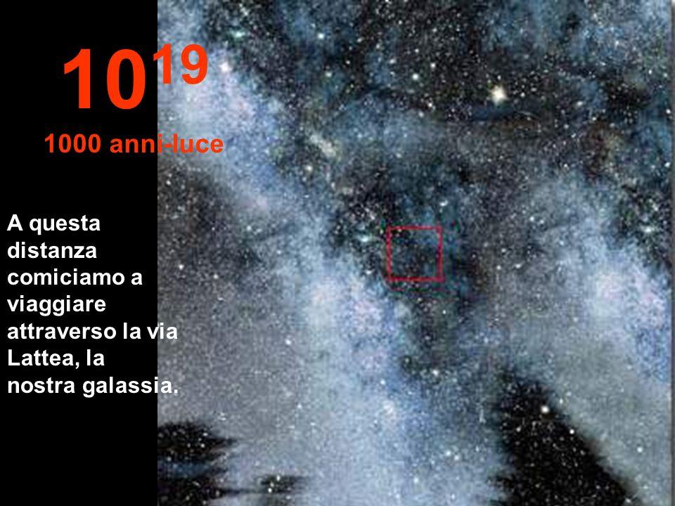 1019 1000 anni-luce.