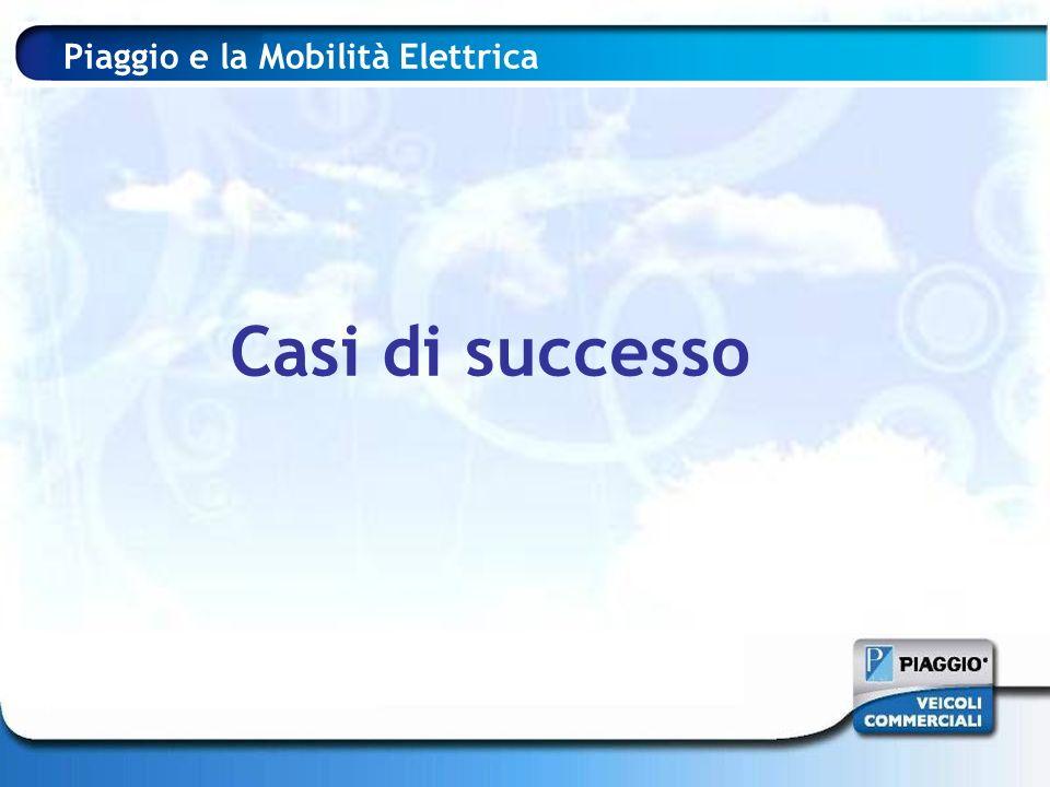 Piaggio e la Mobilità Elettrica