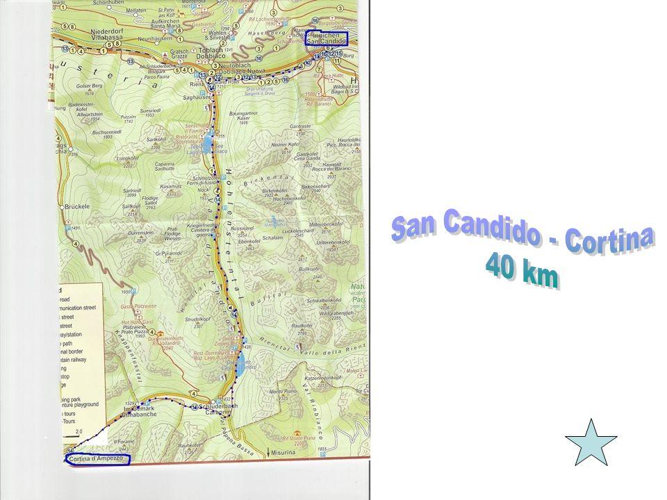 San Candido - Cortina 40 km
