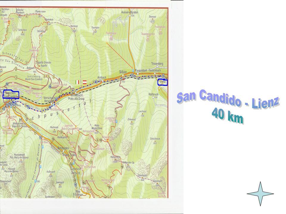 San Candido - Lienz 40 km