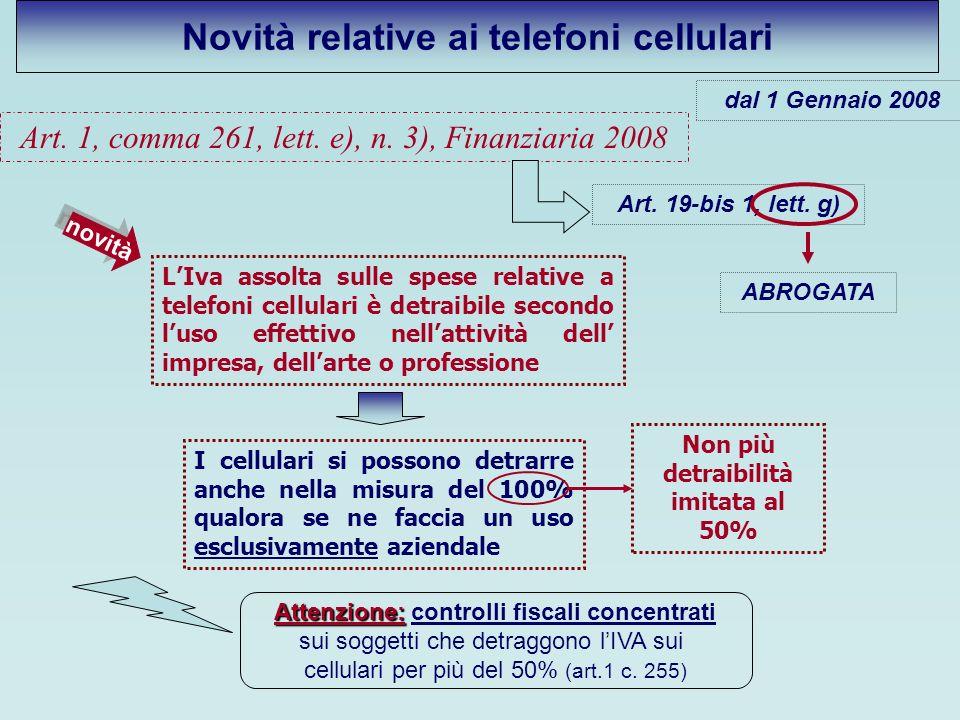 Novità relative ai telefoni cellulari