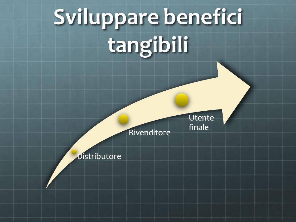 Sviluppare benefici tangibili