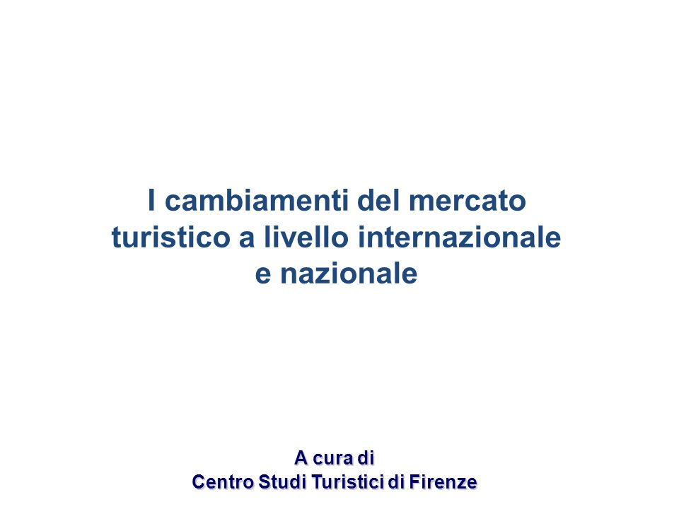 Centro Studi Turistici di Firenze
