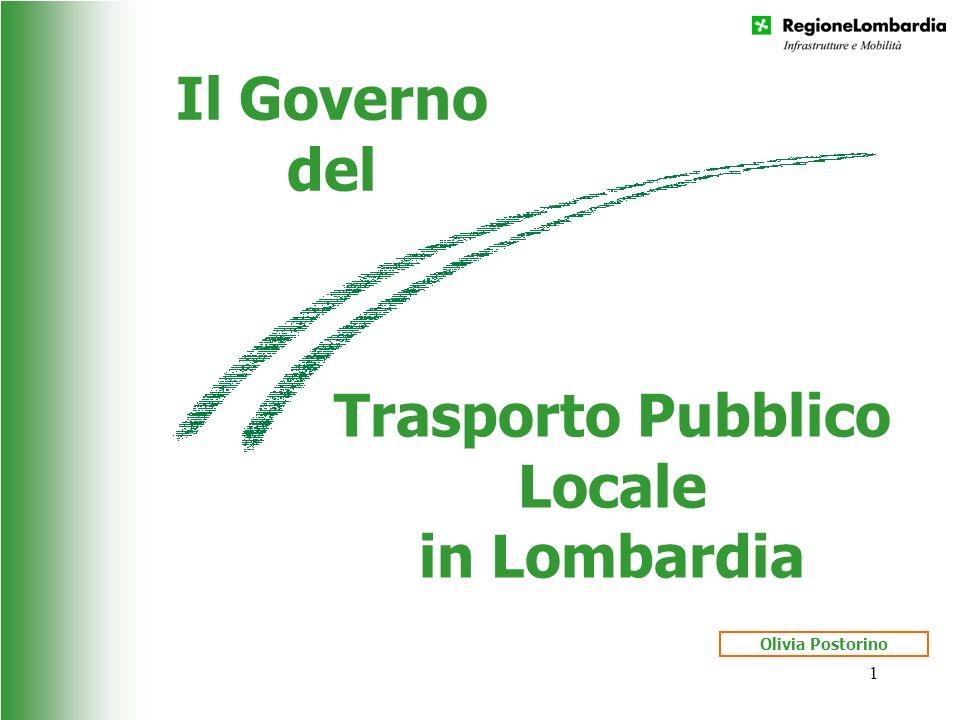 Trasporto Pubblico Locale in Lombardia