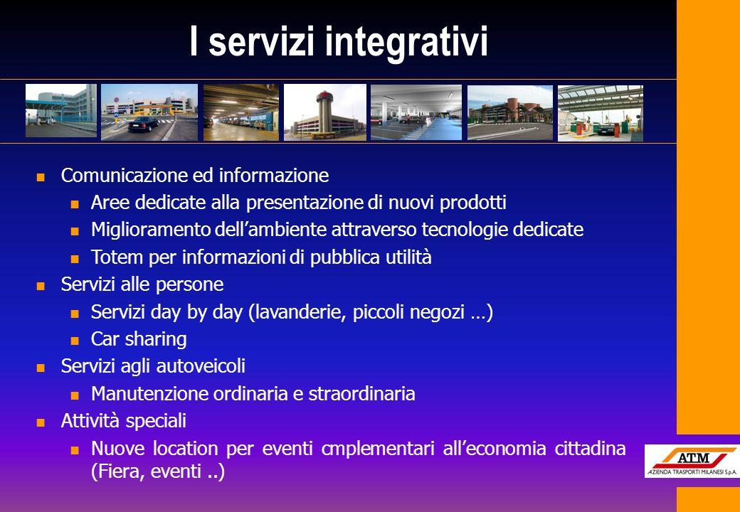 I servizi integrativi Comunicazione ed informazione