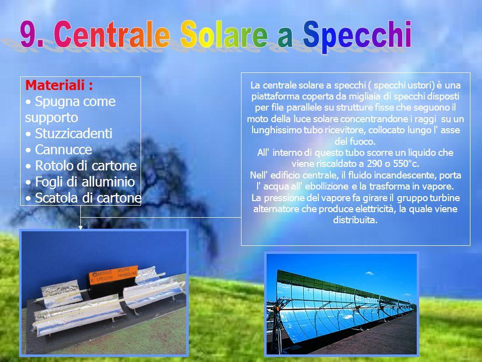 9. Centrale Solare a Specchi
