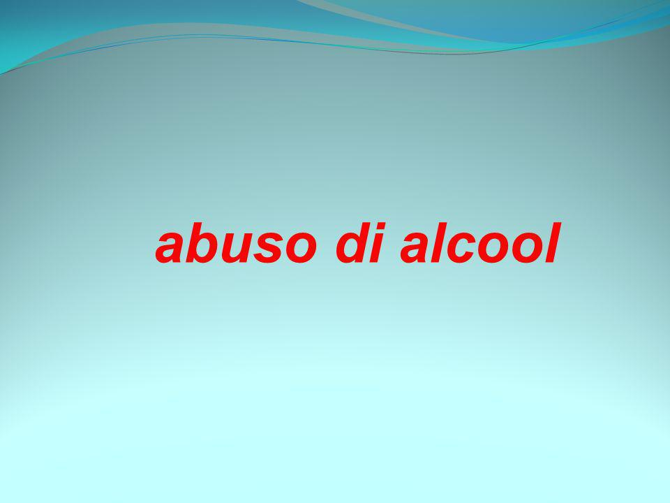 abuso di alcool