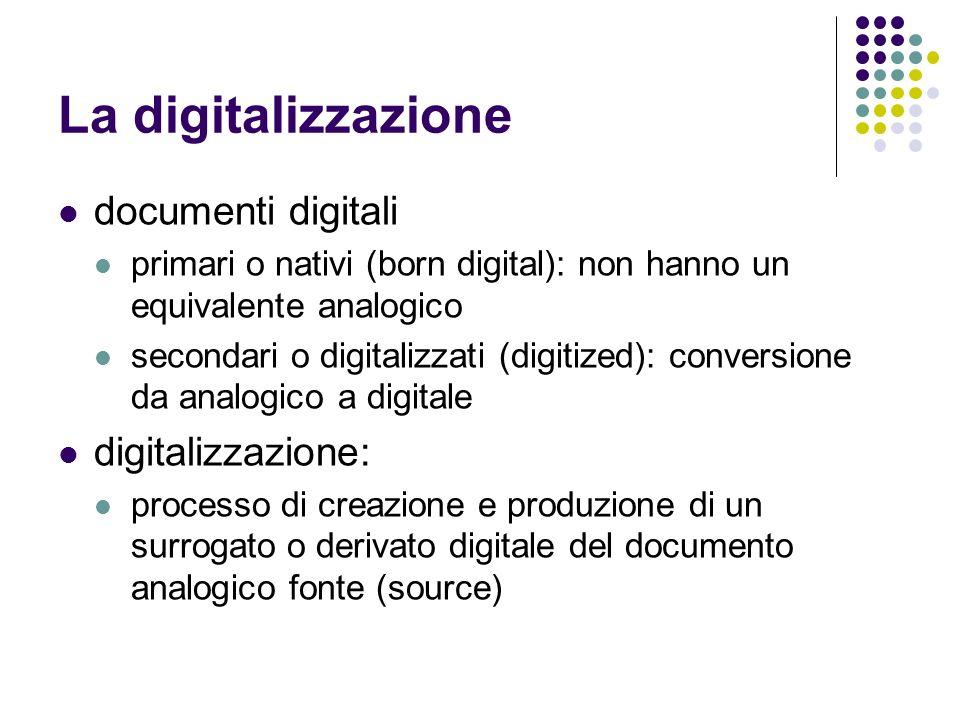 La digitalizzazione documenti digitali digitalizzazione: