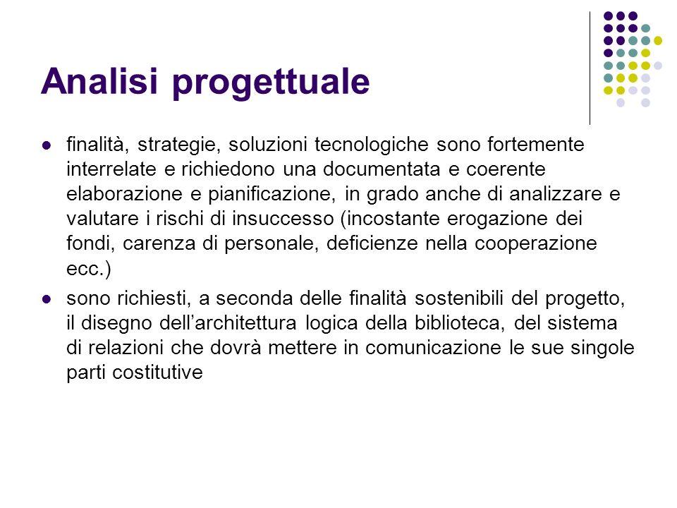 Analisi progettuale