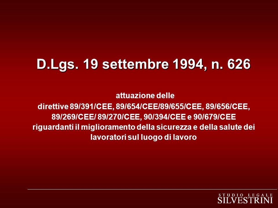 D.Lgs. 19 settembre 1994, n.